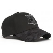 Бейсболка 41032 р-р 55-58 Черный / Логотип