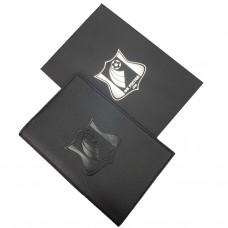 Обложка для паспорта (черная)