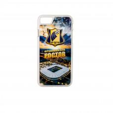 Чехол IPHONE 7/8 (белый, Арена логотип)