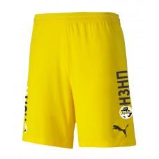 Игровые шорты PUMA сезон 2021/2022 (желтые)