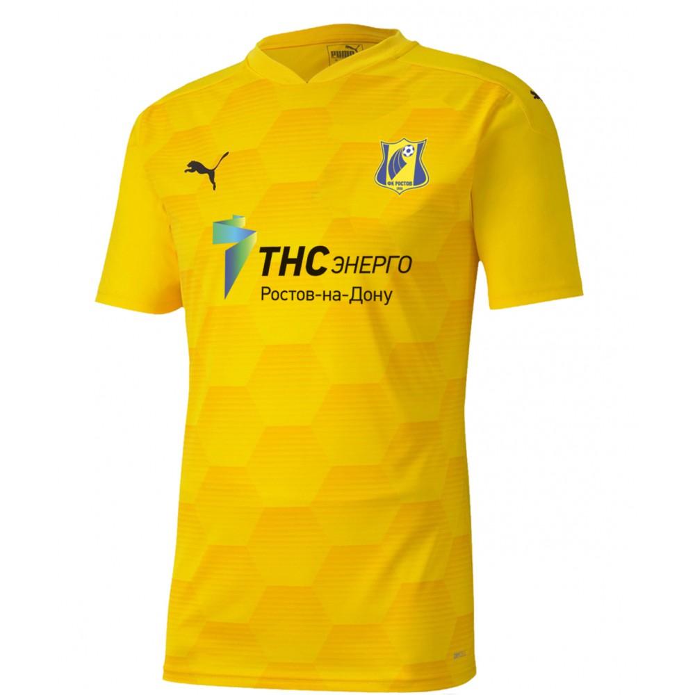 Футболка игровая PUMA сезон 2020/2021 (Желтая)