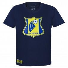 Футболка синяя логотип A&C Арт.309490